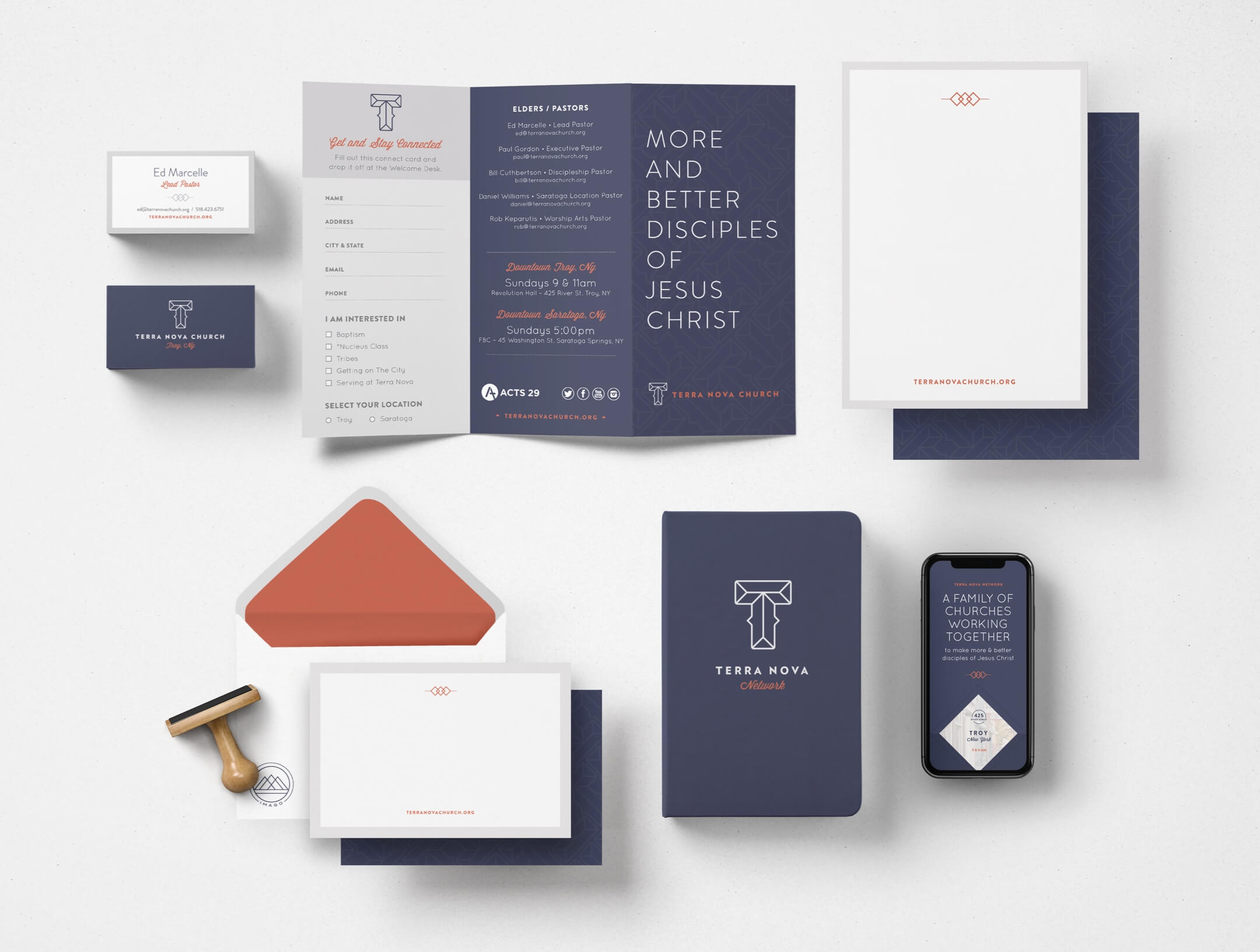 Terra Nova Church brand elements